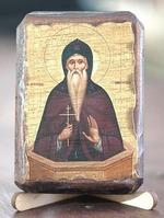 Даниил Столпник, икона под старину, сургуч (8 Х 10)