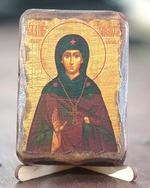 Елисавета Константинопольская, икона под старину, сургуч (8 Х 10)
