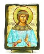 Вера, Св.Муч, икона под старину, на дереве (13х17)