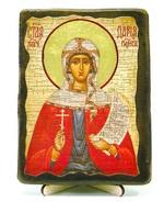 Дарья, Св.Муч, икона под старину, на дереве (13х17)