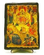 Единородный Сыне, икона под старину, на дереве (13х17)