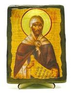 Ефрем Сирин,Св.Прп., икона под старину, на дереве (13х17)