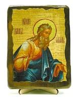 Адам, икона под старину, на дереве (13х17)