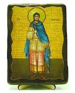 Никита, Св.Муч, икона под старину, на дереве (13х17)