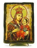 Вифлеемская Б.М., икона под старину, на дереве (13х17)