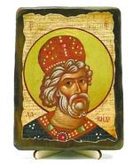 Давид, Св.Муч, икона под старину, на дереве (13х17)
