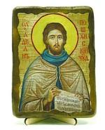 Адриан, Св.Мч, икона под старину, на дереве (13х17)