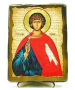 Трифон Св.Мч., икона под старину, на дереве (13х17)