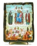 Экономисса Б.М., икона под старину, на дереве (13х17)