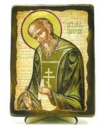 Варлаам Св.Мч., икона под старину, на дереве (13х17)