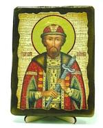 Всеволод, Св.Блгв.Кн., икона под старину, на дереве (13х17)