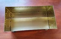 Ящик для огарков с узором с перегородкой