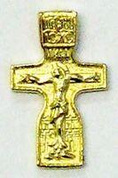 Крест нательный металл (9-36) литой цвет золото