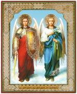 Михаил и Гавриил (08-82), лик 10Х12