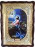 Моление о чаше, в фигурном киоте, с багетом. Храмовая икона (60 Х 80)