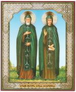 Петр и Феврония (08-49), лик 10Х12