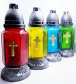 Неугасимая лампада 36п-12 цветная МИКС