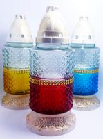 Неугасимая лампада 36п-13 цветная МИКС