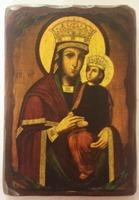 Споручница грешных Б.М., икона под старину (19 Х 27)